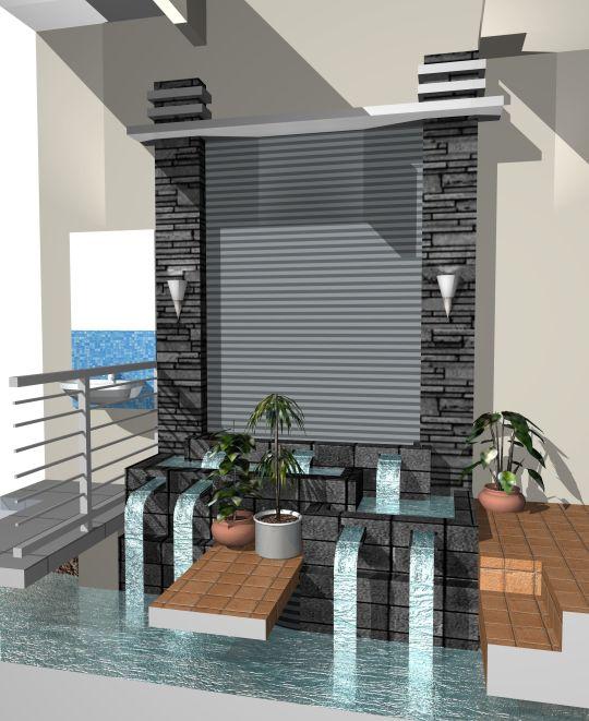 Rumah Minimalis Dan Kolam Renang Kolam Minimalis di Dalam Rumah