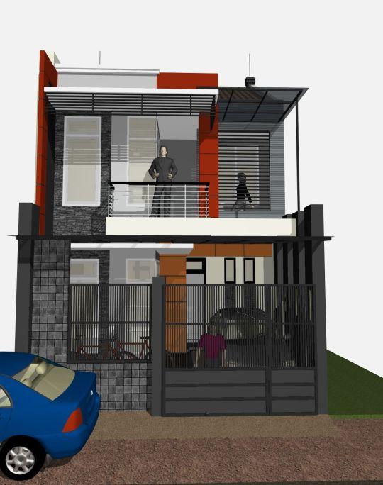 type 200 eksklusif 2 lantai rumah minimalis 78